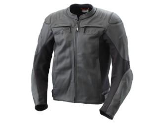 Resconance Leather Jacket - Leder Jacke - lang