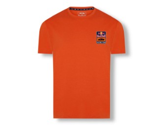 RB KTM Backprint Tee - Red Bull KTM T-Shirt - kurzarm