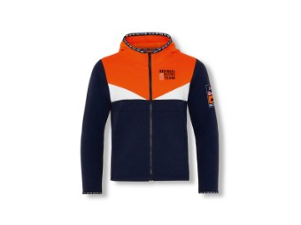 Kids RB KTM Fletch Zip Hoodie - Red Bull KTM Shirt - langarm