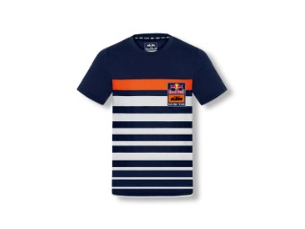 Kids RB KTM Stripe Tee - Red Bull KTM Kinder T-Shirt - kurzarm