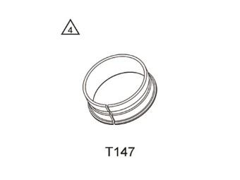 Büchse Demontage/Montage Rohr D=52mm