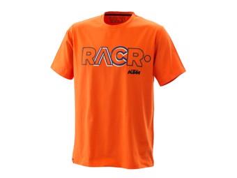 RACR Tee Orange - T- Shirt