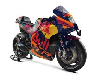 MotoGP Model Bike Binder