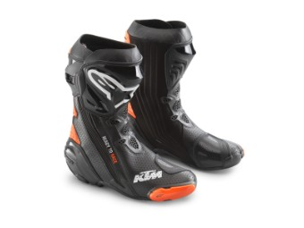 SUPERTECH R BOOTS BLACK/ORANGE