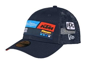 TLD KTM Team Curve Snapback Cap