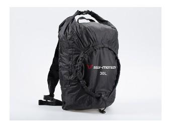 Flexpack Faltrucksack 30 l. Schwarz . Wasserabweisend.