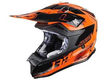 Helm J32 Pro Kids Kick Orange