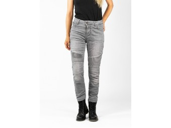 Hose Betty Biker jeans Light Grey