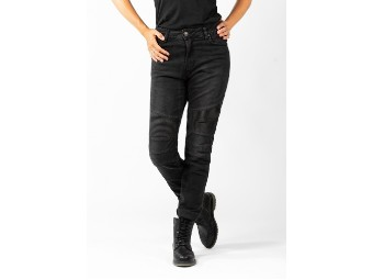 Hose Betty Biker Jeans Black Used