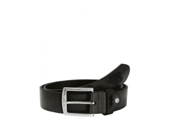 Leather Belt Tiger Black