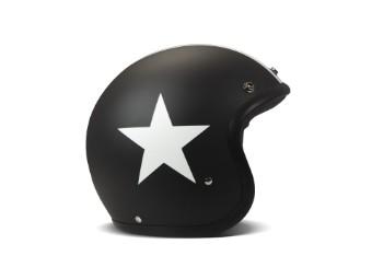 Vintage Jethelm 1JTS3000SB Star Black matt Cafe Racer ECE-geprüft
