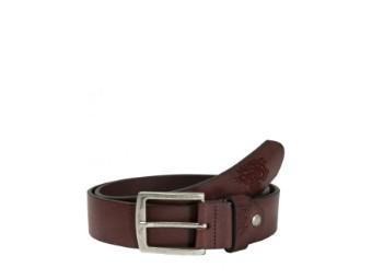 Leather Belt Tiger Brown, Ledergürtel