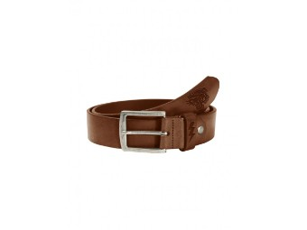 Leather Belt Tiger Dark Cognac