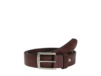 Leather Belt Cross Tool Brown