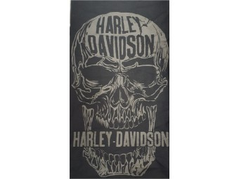 "Bandana Halstuch ""Decomposed Skull Black"" MHW24930"