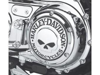Derby Cover, Skull, Willie G
