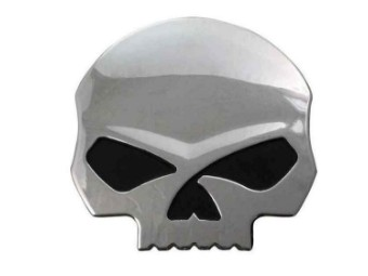 Harley Davidson Decal/Aufkleber 3D Willie G. Skull Orange  DC1199062