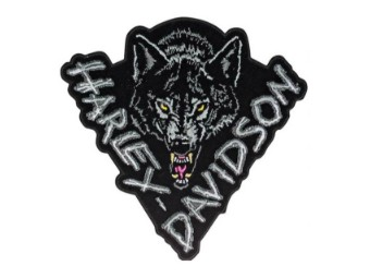 "Harley-Davidson Emblem / Patch ""Lone Wolf"" EM134302"