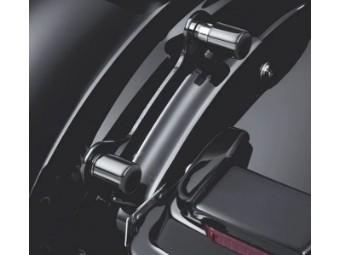 Small Rear Docking Hardware Cover Kit Black 48225-10