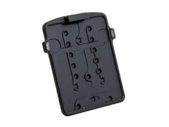 Kennzeichen Grundplatte Einschub mit 3 in 1 Blinker/Rücklicht
