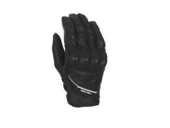Cruiser Perforated Gloves Men Black Leather 5CRH-100