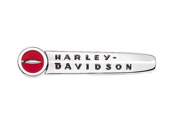 "Harley-Davidson H-D TANK EMBLEM ""HARLEY-DAVIDSON"" 61769-47T SET 2er-Set + Kit"