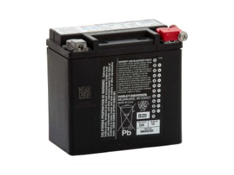 12AH AGM Battery 66000208 Sportster XL and XR Models '04 up