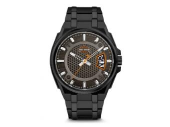 """Men's Bulova """"Steel Speed"""" Wrist Watch Schwarz Herrenuhr 76B151"""