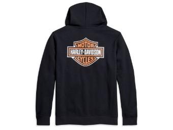 Mens Pullover -Logo- 96016-21VM Hoddie Black