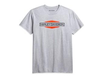 Men's Stacked Logo Tee - Slim Fit