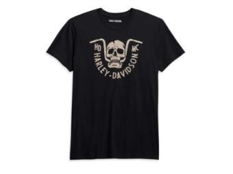 Harley-Davidson Bar Bite Tee - Slim Fit Herren