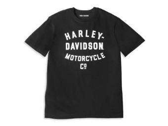 Harley-Davidson Racer Font Motorcycle Co. Graphic Tee Herren
