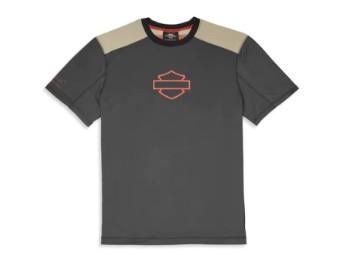 Harley-Davidson Performance Short Sleeve Tee mit Coolcore Technologie Herren