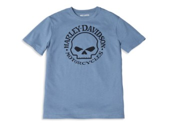 Harley-Davidson Willie G Skull Graphic Tee Herren