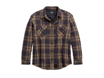 """Men's Jacket """"Quilted Lining Plaid"""" 96198-21VM"""