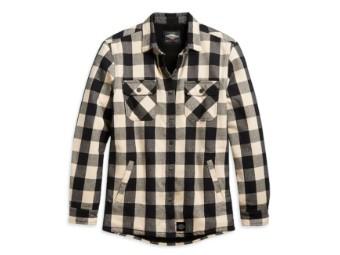 Sherpa Lined Shirt Jacket Damen