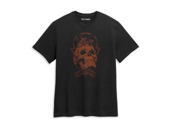 Men's Skull Space Graphic Tee