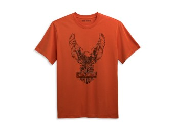 Men's Winged Eagle LogoTee