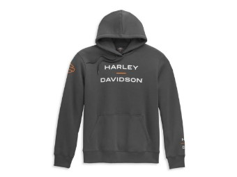"Men's Hoodie ""Horizon Logo"" Grey 96450-21VM Hood Bar& Shield"