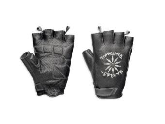Burnin´Up Fingerless Gloves Damen