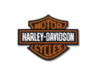"""""""Vintage Logo Iron-On Patch"""" 97651-21VX Bar & Shield"""