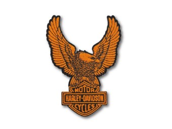 "Aufnäher Emblem Patch ""Upwing Eagle"" Orange 97669-21VX"