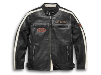 Men's Command Leather Jacket 98007-20EM Black