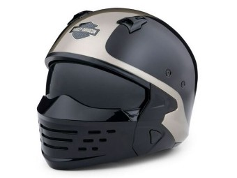 "Motorcycle Helmet ""Sport Glide 3 in 1"" 98176-20EX Black Grey"