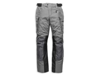 "Textil-Motorradhose ""Grit Adventure"" 98181-21VM Wetterfest Grau"
