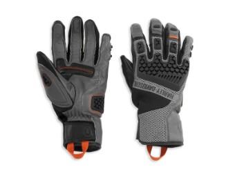 "Herren Handschuhe ""Grit Adventure"" Grau/Schwarz 98183-21VM"