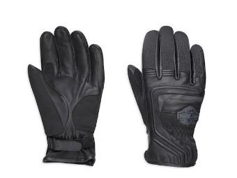 Harley-Davidson Bar&Shield Logo Leather&Mesh Gloves Herren