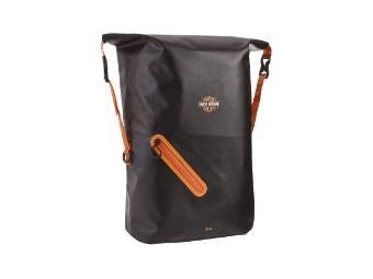Rucksack wasserfest A93812 Backpack 30 Liter Schwarz/Orange