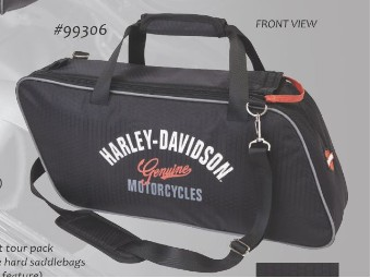 "Tour Pack ""Genuine Motorcycles"" Black A99306 Water repellent"