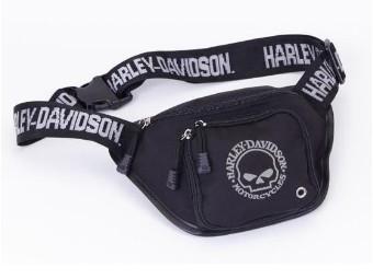 """adjustable Bum Bag """"Willie G."""" Waist Bag A99426-SKULL"""
